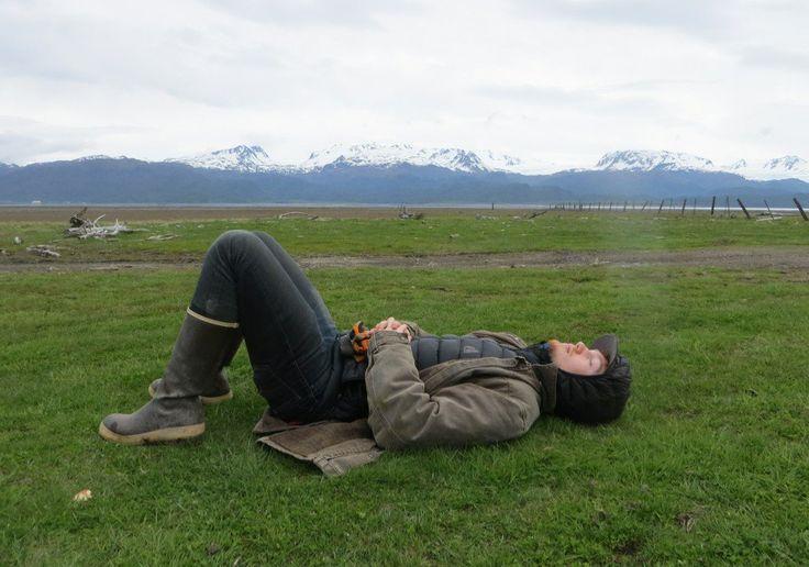 """@August_Kilcher: Taking 5 "" #AlaskaTLF tonight"