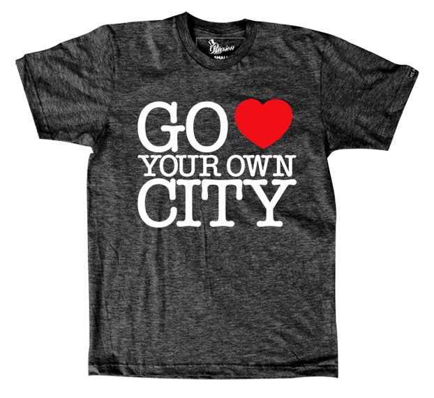 Go love your own city...