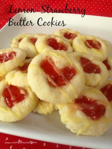 Thumb print cookies are the best and these are amazing. A great way to get your kids involved in helping and a perfect Christmas cookie! The also make great little thumbprint hearts for Valentines Day!