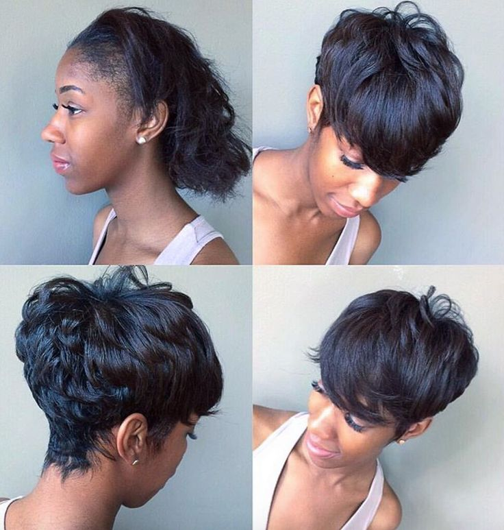 Black Hairstyles Short 60 great short hairstyles for black women Find This Pin And More On Short Haircuts By Blackhairinfo