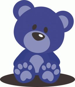 Silhouette Of A Teddy Bear - ClipArt Best
