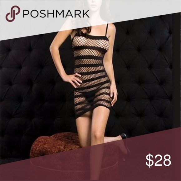 Sexy Lingerie Fishnet Crotchless Open Crotch Dress Sexy Lingerie Fishnet Crotchless Open Crotch Dress Bodystocking Fetish Black  Top selling #1 Accessories