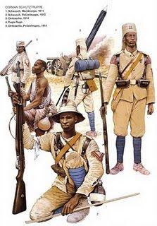 German East Africa Askaris WWI