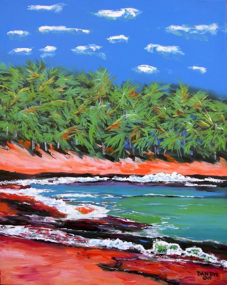 10 LARGE CONTEMPORARY ORIGINAL MODERN BEACH CANVAS PAINTING ART Dan Byl 4x5ft | Art, Art from Dealers & Resellers, Paintings | eBay!