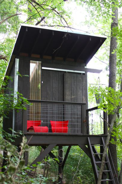 Awesome mom builds ultimate $1,500 treehouse   Shine On - Shine from Yahoo Canada