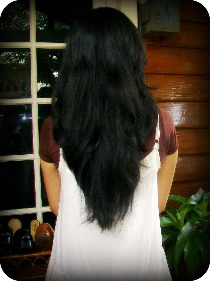 V Haircut Medium Hair