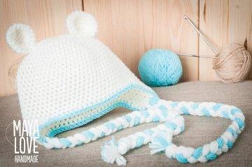 crochet hat witch ears :-)