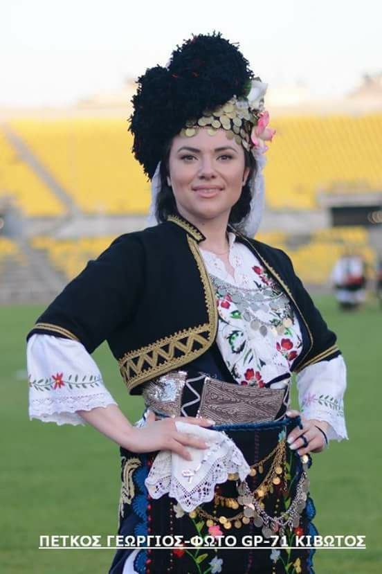 433 Best Macedonian Clothes - Hellenic Traditional -9234