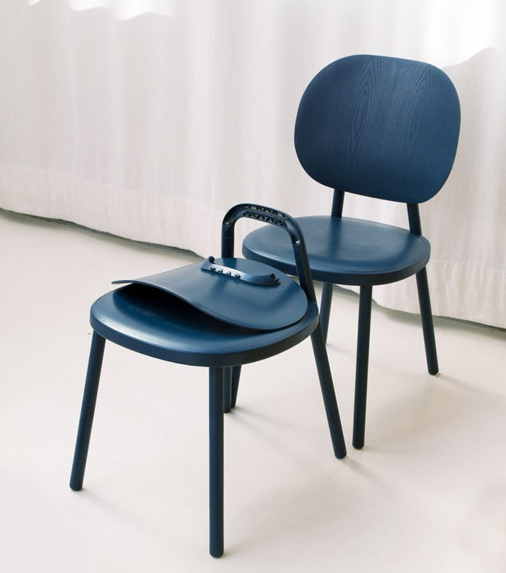 Stefan Diez Defines Kitt Chair For Hay With A Rounded Expression Chair Wood Chair Design Fiberglass Chair