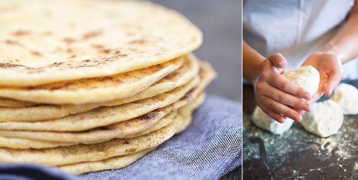 Tortillabröd - Brödrecept - Kungsörnen