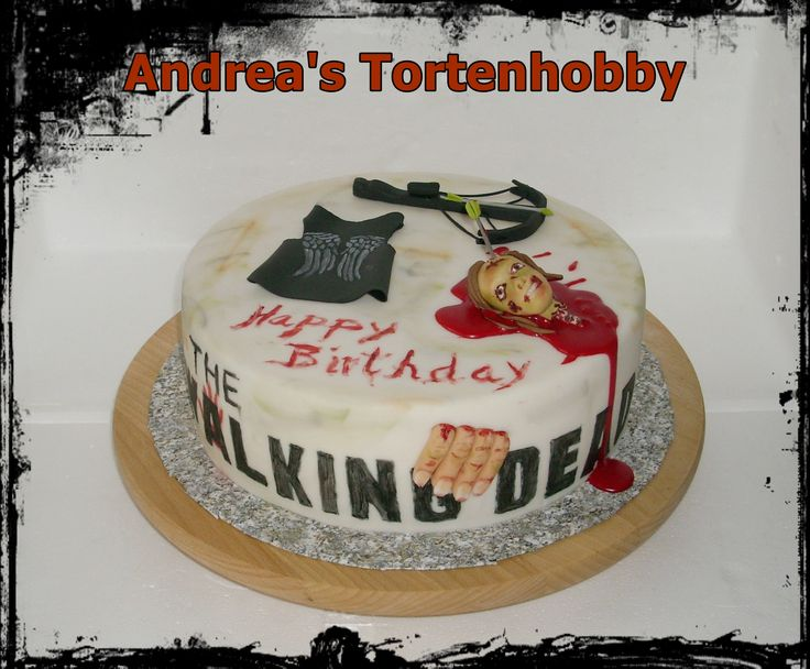 The Walking Dead Daryl Cake