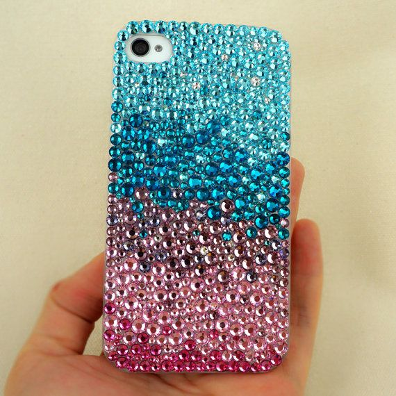 Gradient iPhone Case  Bling Bling iPhone by BlingRhinestoneCase, $31.99