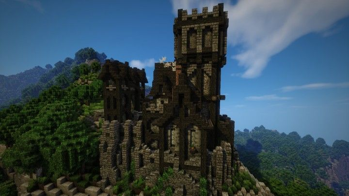 Small EPIC Medieval Castle Download Minecraft Project
