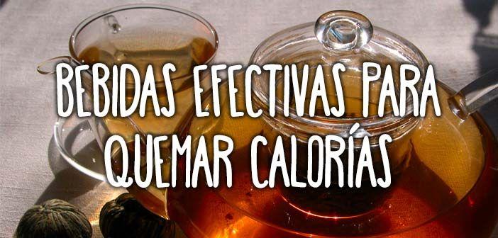 6 bebidas efectivas para quemar calorías  http://nutricionysaludyg.com/nutricion/6-bebidas-efectivas-para-quemar-calorias/