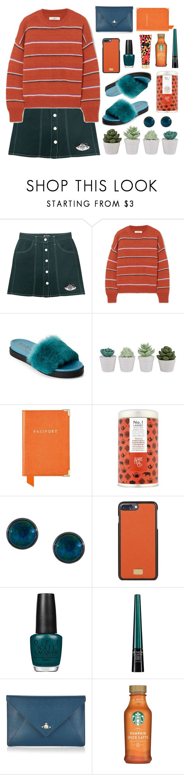 """#PolyPresents: Last-Minute Gifts"" by xxabella ❤ liked on Polyvore featuring M.Y.O.B., Étoile Isabel Marant, Aspinal of London, Astley Clarke, Dolce&Gabbana, OPI, Revlon, Vivienne Westwood and Victoria's Secret"