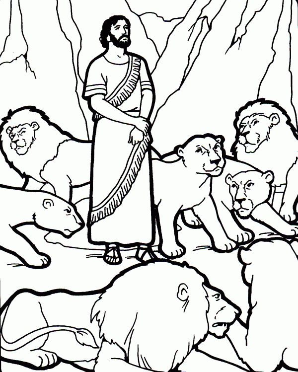 20 best coloring: bible: ot: the years of exile & return images on ... - Bible Story Coloring Pages Daniel