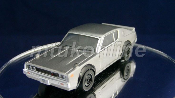TAKARA SILHOUETTE 6 NISSAN SKYLINE GT-R 1973   C110   1/64   SILVER METALLIC