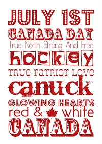 It Works For Bobbi!: Free Friday- Canada Day Printable and Other Ideas