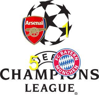 Café y Fútbol: Arsenal vs Bayern München