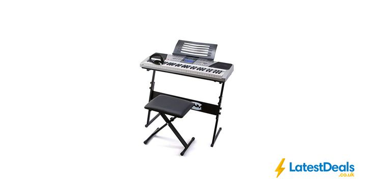 RockJam 61 Key Electronic Interactive Teaching Piano Keyboard Save £20, £79.99 at Amazon UK