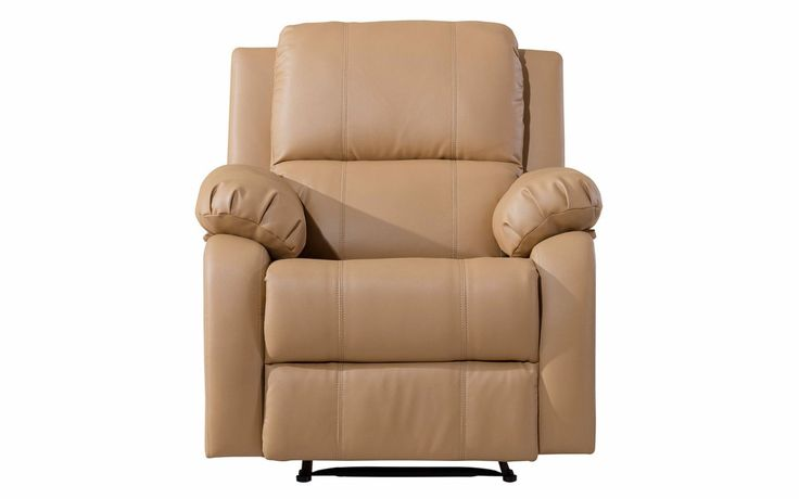 Choco Classic Bonded Leather Recliner Chair