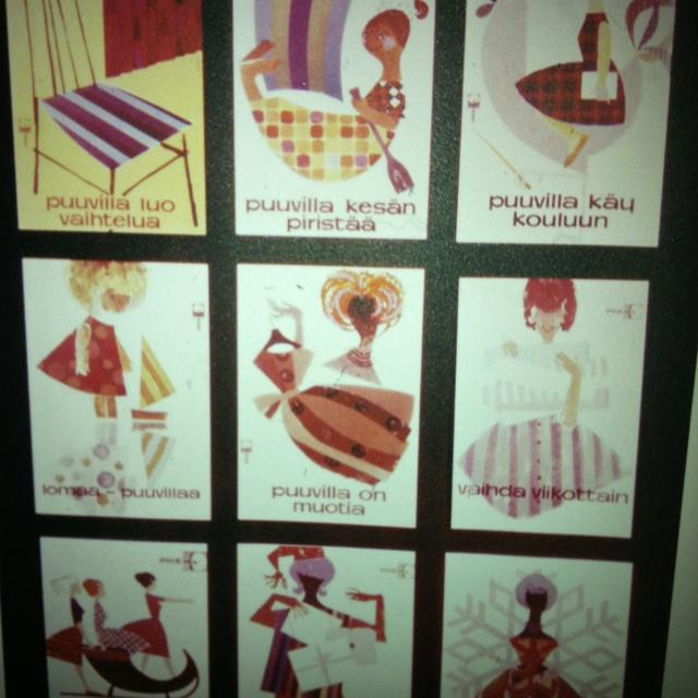Puuvilla on muotia (Tekstiilimuseo, Finlayson)