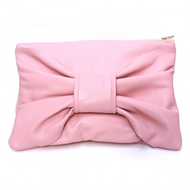Pink Broadway Clutch