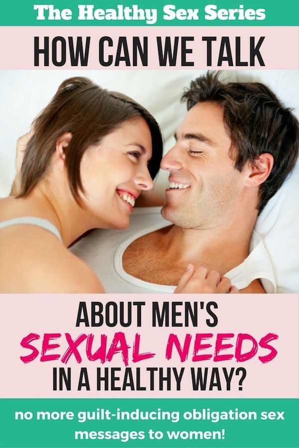 Consider, Christian view on sexual needs that