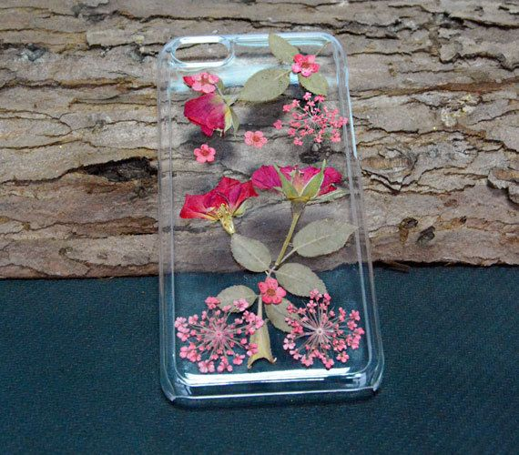 Personalized pressed flower iPhone 6 casefloral by UUniquecase