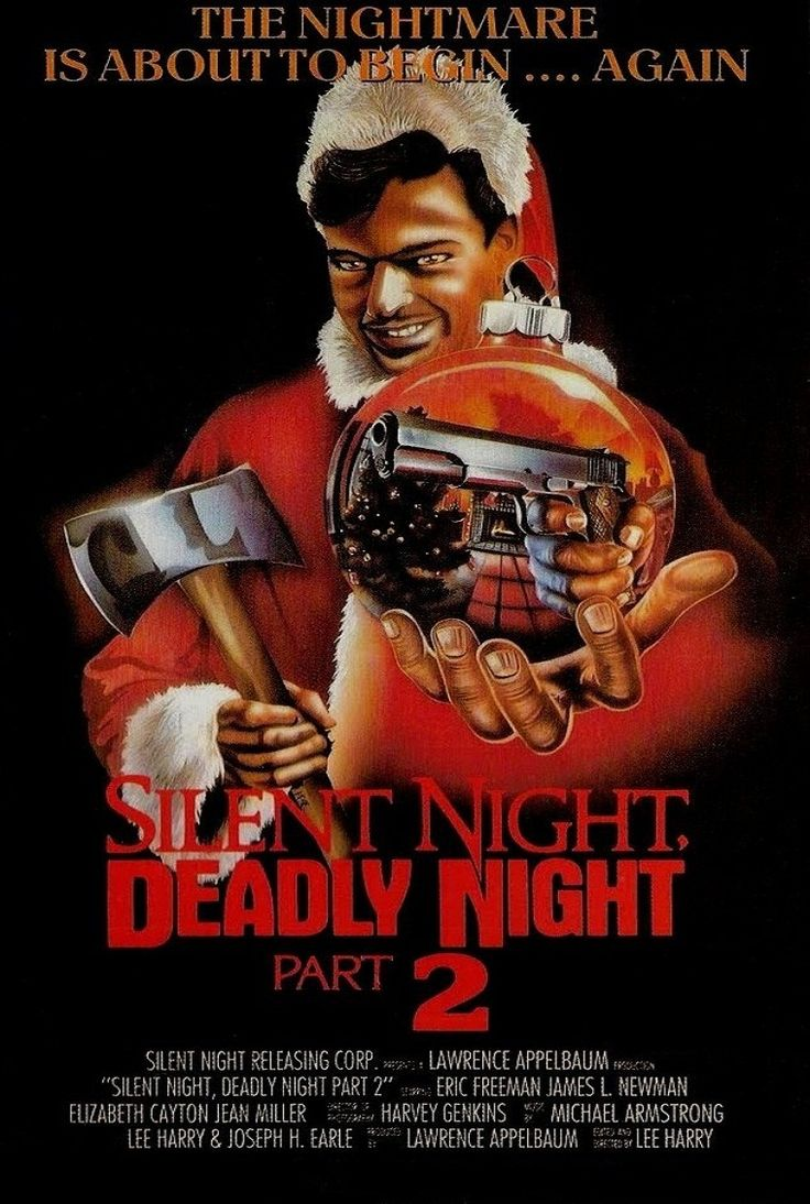 Silent night deadly night 2 The first half of the movie was just part one which made me wonder what the rest of the movie would be like but it was quite good 3***