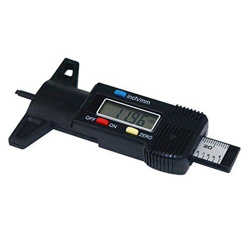 VOSO-LCD Display Digital Depth Gauge Tyre Tread Brake Shoe Pad Wear 0-25mm 1000590 #VOSO #Display #Digital #Depth #Gauge #Tyre #Tread #Brake #Shoe #Wear