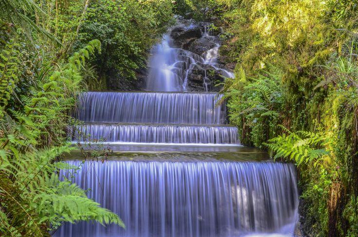 Фотография Sucesión de cascadas автор Gonzalo Angueira на 500px