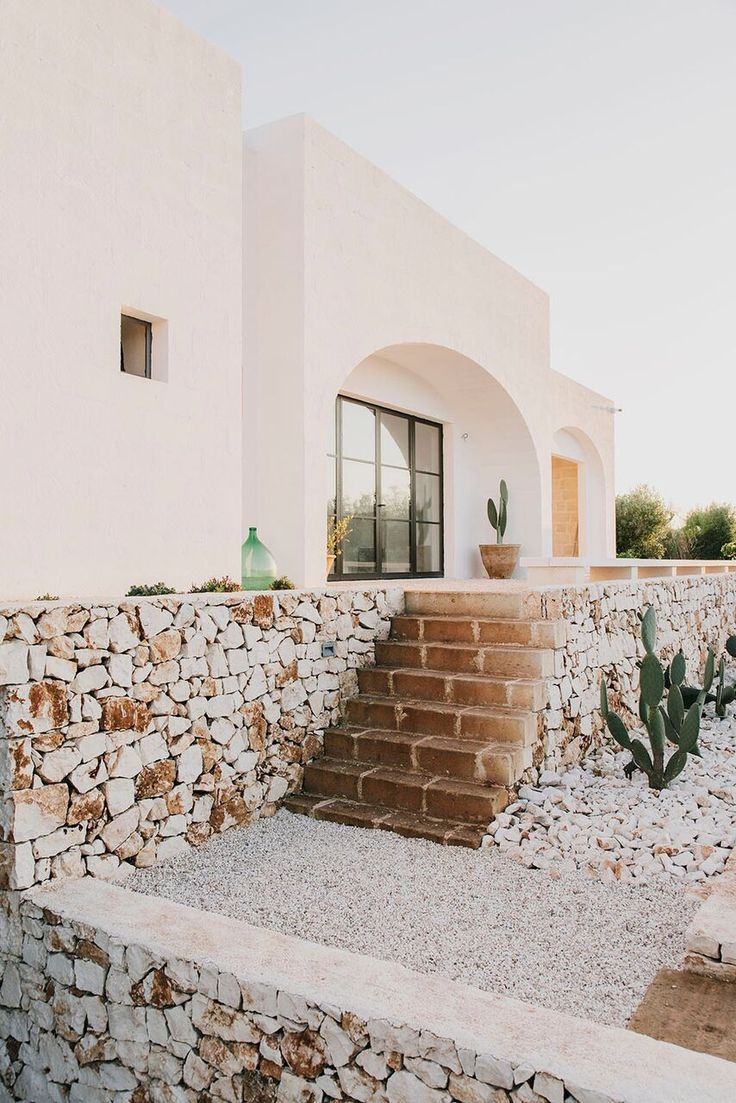 Stacked stone A Modern Masseria in Puglia with Traditional Influences: Remodelista