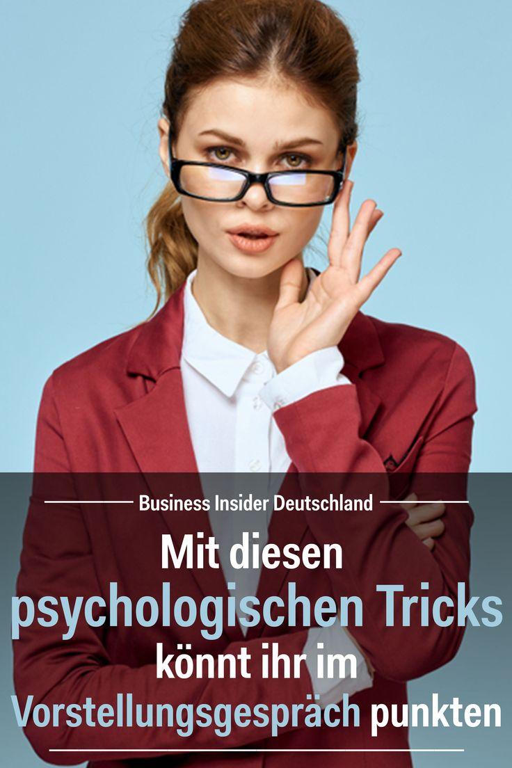 Bewerbung: Mit diesen psychologischen Tricks könnt ihr im Vorstellungsgespräch punkten