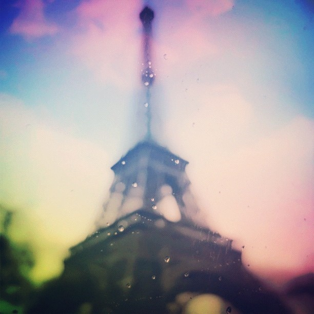 I could drown inside this interlude of love and Paris rain Brenda RussellPhot