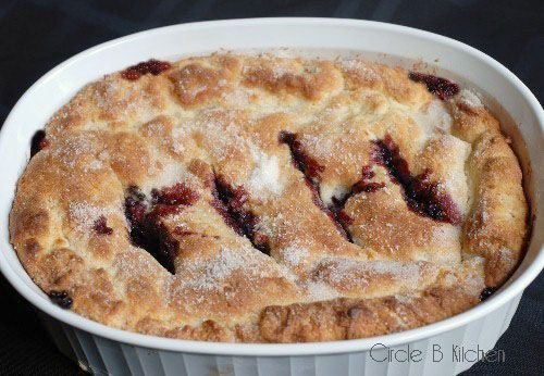 mulberry colbler recipe - with how to freeze mulberries as well