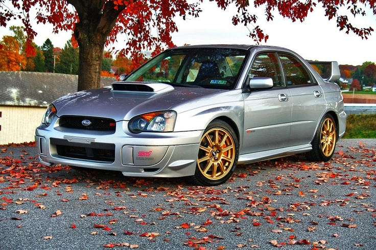 2005 Subaru Impreza WRX STi.