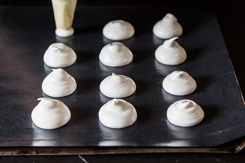 How to Make Meringues with any amt of left over egg whites. This is really helpful!