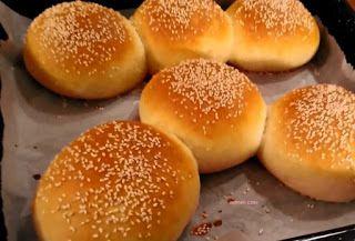 Ψωμάκια για χάμπουργκερ