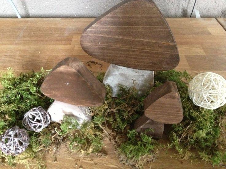 steinpilz herbstdeko pinterest steinpilze holz und herbst. Black Bedroom Furniture Sets. Home Design Ideas