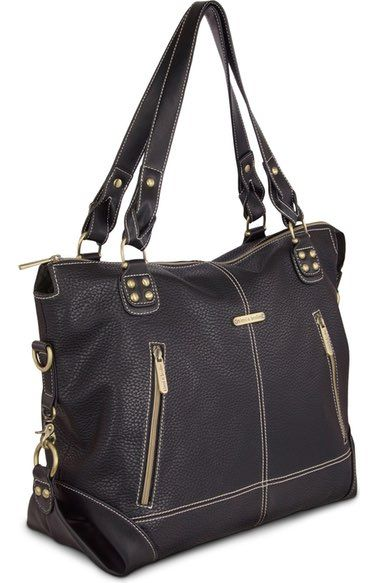 Timi & Leslie 'Kate' Faux Leather Diaper Bag available at #Nordstrom