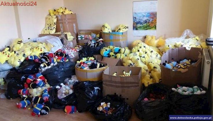 Fałszywe Minionki i Pikachu sprzedawała w Internecie. Policja pokazała nagranie z mieszkania 39-latki