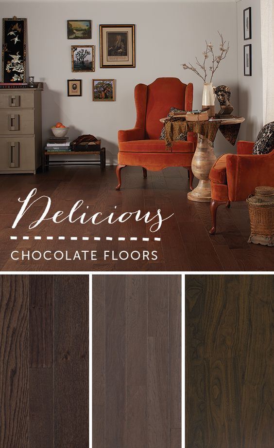 Color Journey: Delicious Chocolate Floors | Quicku2022Step Style Blog