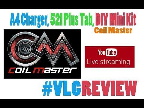 Coil Master A4 Charger 521 Plus Tab DIY Mini Kit Vapelikegeek LIVE Review Coil Master A4 Charger 521 Plus Tab DIY Mini Kit Θα βρειτε περισσοτερες πληροφοριες εδω http://ift.tt/2q8fqDG ----------------------------------------------------------------------------------------------- Οποιος θελει να παρει το mix shot συνταγη μου Strawmurder πληροφοριες εδω http://ift.tt/2hbpEnk ---------------------------------------------------------------------------------------------- Μοναδικες προσφορες απο…