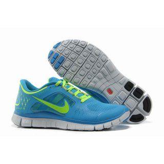 newest f9fa5 669cc ... ebay billig imitasjon 2012 dame nike free run 3 blå grønn bf74d 1e3ef