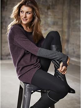 Athleta Merino Nopa Sweater - The Merino wool scoop neck sweater in a tunic length with thumbholes to give you added warmth and coverage.