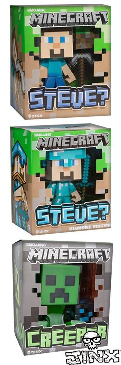 The best Minecraft toys.  #minecraft #minecrafttoys -   HEY !!!!  For more really cool minecraft stuff check out http://minecraftfamily.com/
