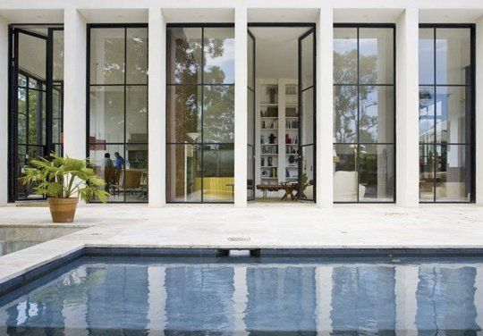 Simply Stunning: Steel Windows & Doors | Apartment Therapy