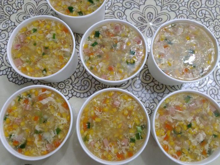 Sup jagung hamwos