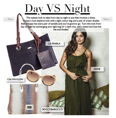 Intern's Picks: Day VS Night. Read more in The Magazine > http://www.diligo.co.za/magazine/2013/06/19/interns-picks/